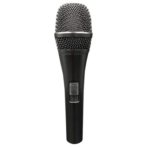 microfone com fio sm90 cardióide dinâmico soundvoice