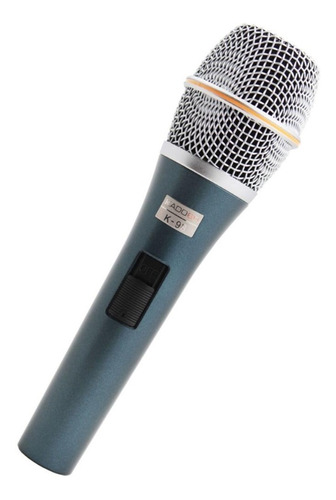 microfone com fio tipo sennheiser voz canto kadosh k98