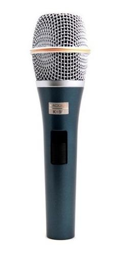 microfone com fio voz kadosh k98 original profissional