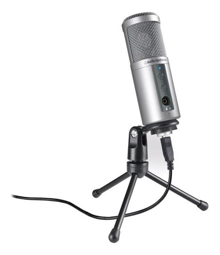 microfone condensador audio-technica - atr2500 usb