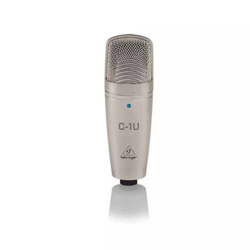 microfone condensador behringer c1-u usb c1usb condenser