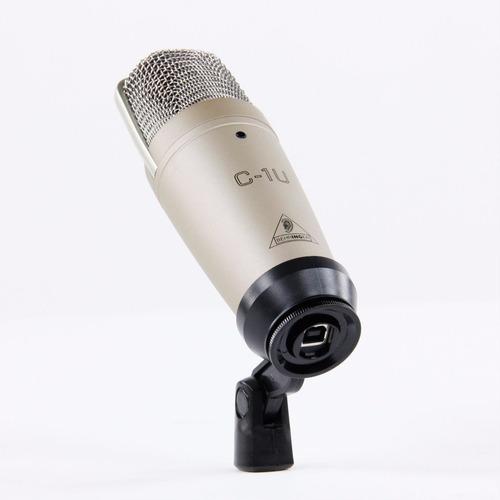 microfone condensador behringuer c1usb frete gratis todo br