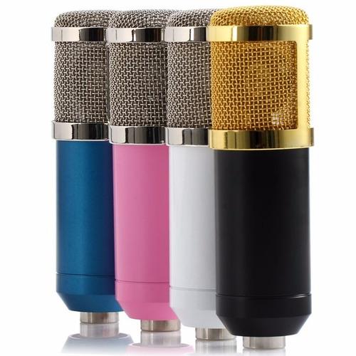 microfone condensador bm 800 pronta entrega frete grátis
