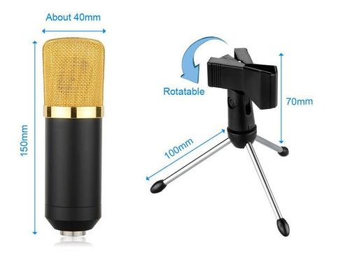microfone condensador com