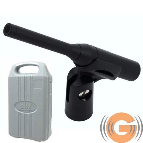 microfone condensador dbx rta-m análise audio goias musical