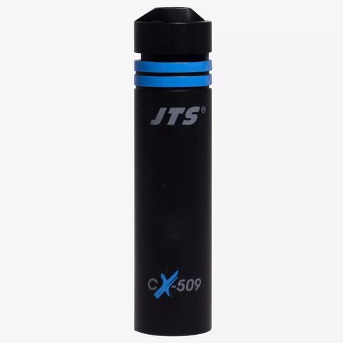 microfone condensador p/ bateria percussão - over jts cx-509