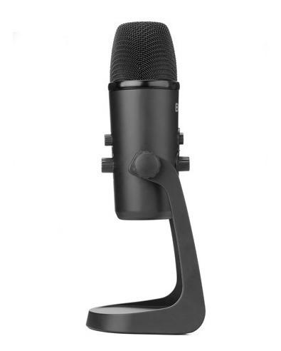 microfone condensador usb boya by-pm700 - temos loja