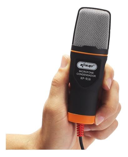 microfone condensador usb knup