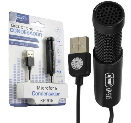 microfone condensador usb youtube videos aulas cursos gravar