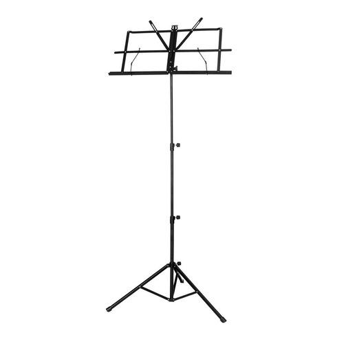 microfone csr 505 duplo + estante de partitura jy006