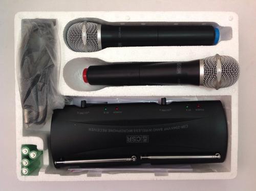 microfone csr sem fio 204h