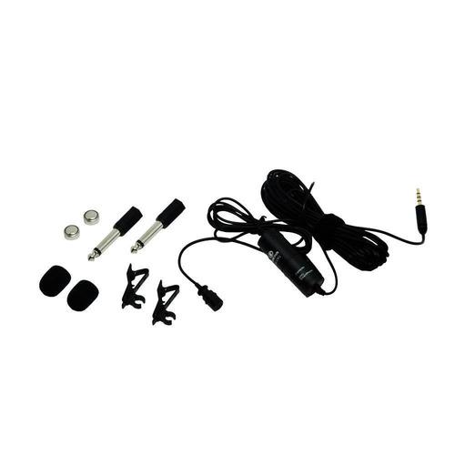 microfone de lapela greika gk-cm1 gk-lm1 câmeras, smartphone