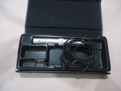 microfone de lapela sony com fio ecm-77b ( 05a)