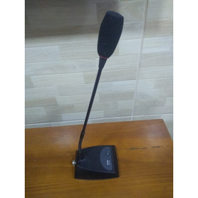 Microfone De Mesa Gooseneck Profissional Ht 82 Yoga Csr Ht82