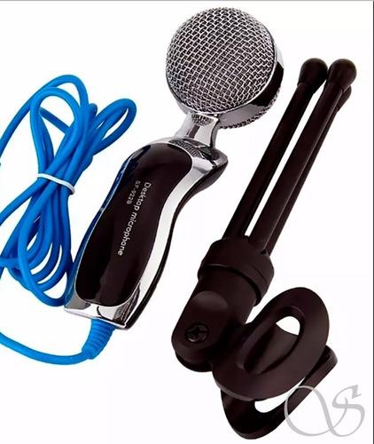 microfone de mesa ideal para youtubers e rádios top