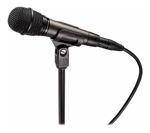 microfone de mão audio-technica atm610 hipercardioide