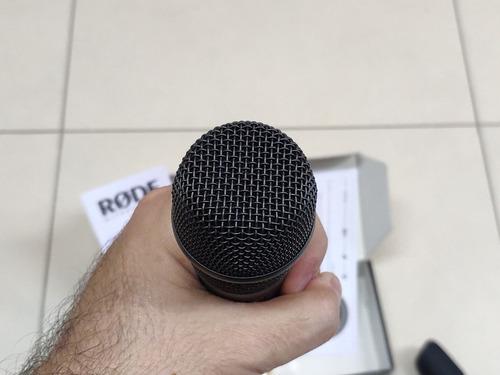 microfone de mão rode m2 condensador supercardioide