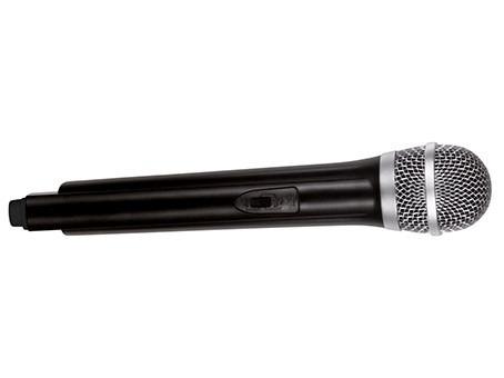 microfone de mão sem fio wireless waldman hypermic - uhf 301