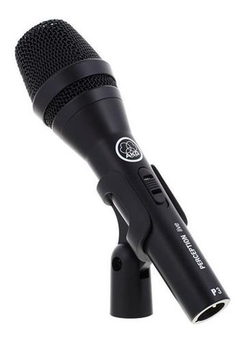 microfone dinâmico akg p3s perception p3 s