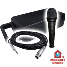 microfone dinâmico kam kdm550b cardióide p/ voz palco vocal