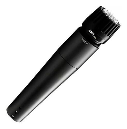 microfone dinâmico profissional instrumentos c/fio skp pro57
