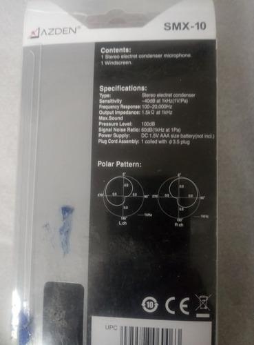 microfone direcional dslr smx-10