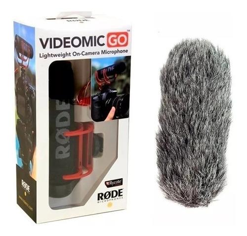 microfone direcional videomic go rode shotgun+ deadcat