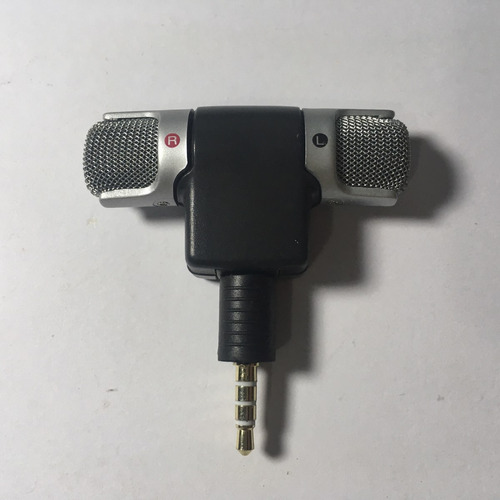 microfone estereo p2 dobravel lapela