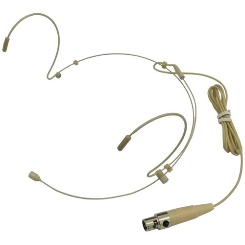 microfone headset karsect ht3c - com conexão mini xlr