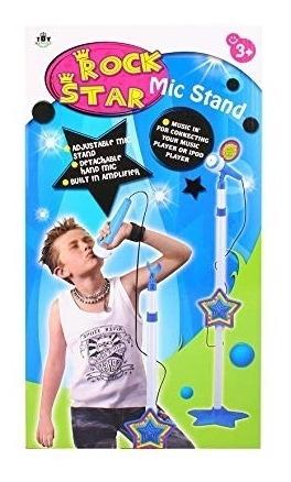 microfone infantil luz auxiliar karaoke amplificador azul