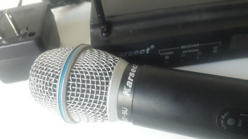 microfone karset sem fio.