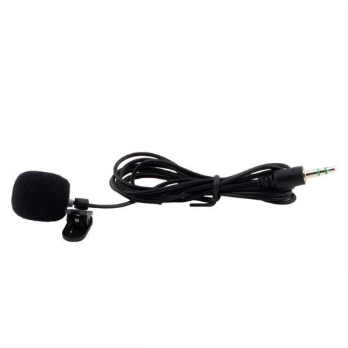 microfone lapela plug p2 stéreo profissional kit 3un