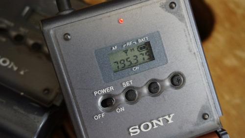 microfone lapela sony - utx-b1