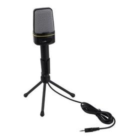 Microfone Oem Sf-920 Omnidirecional Preto
