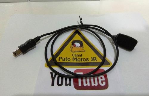 microfone para gopro hero 3 e 4 by pato motos jr