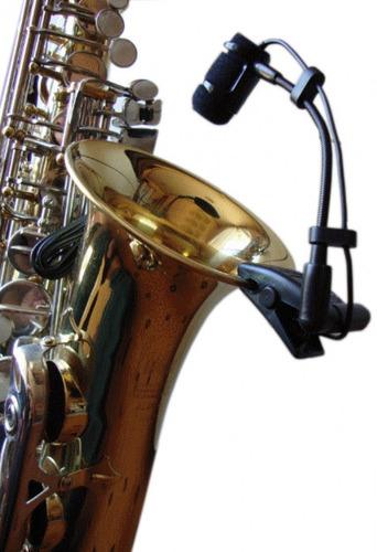 microfone para instrumento de sopro em714