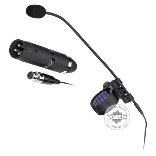 microfone pra flauta com fio jts cx-500f - frete grátis