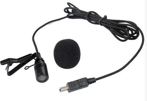 microfone profissional lapela - gopro gopro mini usb