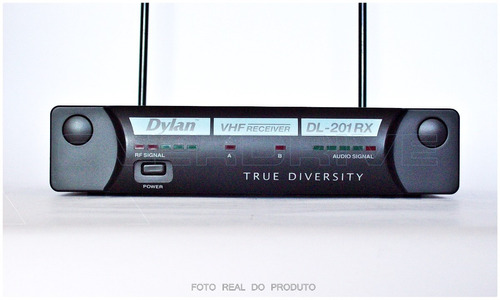 microfone profissional sem fio lapela dylan dl201