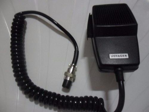 microfone ptt 4 pinos original voyager 500 ohm radio amador