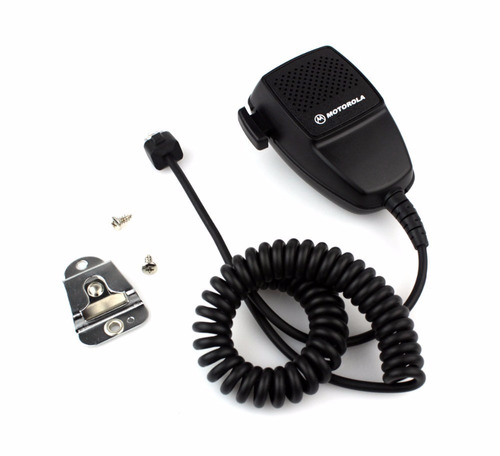 microfone ptt p/ rádio motorola hmn3413ar em200 gm300 em400
