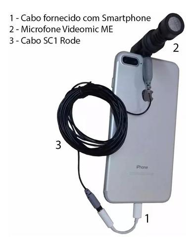 microfone rode videomic me para smartphone revenda oficial