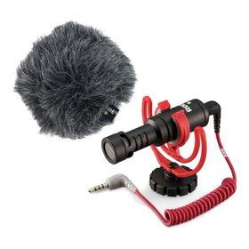 Microfone Rode Videomicro Cardióide Preto