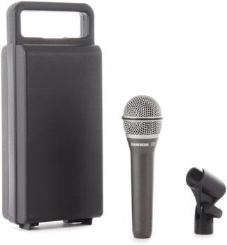 microfone samson profissional
