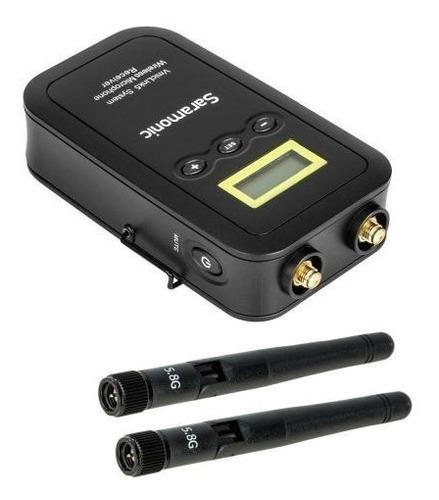 microfone saramonic lapela wireless 5.8ghz 1tx5 1rx5
