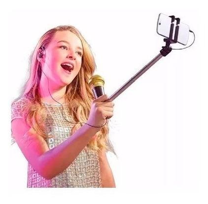 microfone selfie mic rosa da estrela - bonellihq l18