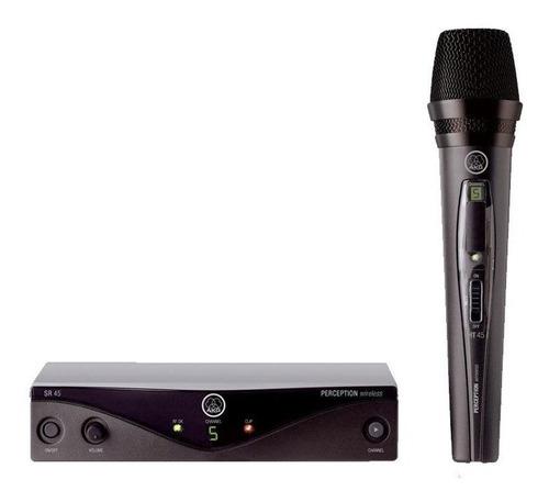 microfone sem fio akg perception pw45 vocal set mão pw 45