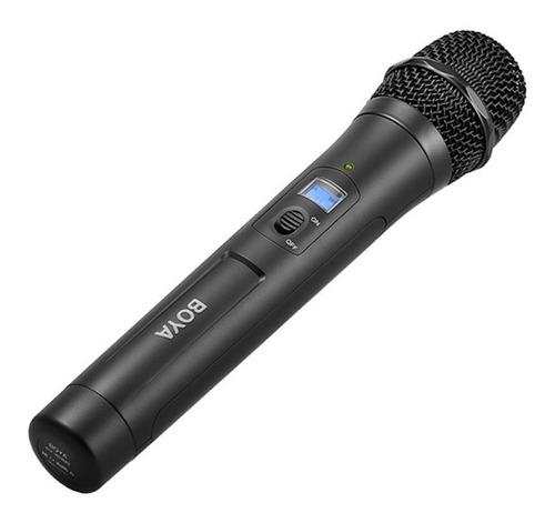 microfone sem fio boya by-whm8 cardióide