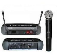 microfone sem fio csr prof h888 x-888 uhf prof 50 canais pll