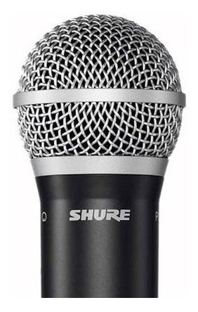 microfone sem fio de mão blx 24br pg58 - shure